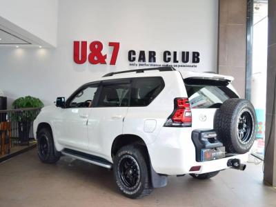 2018年6月 丰田 普拉多 3.5L 自动TX-L后挂备胎图片