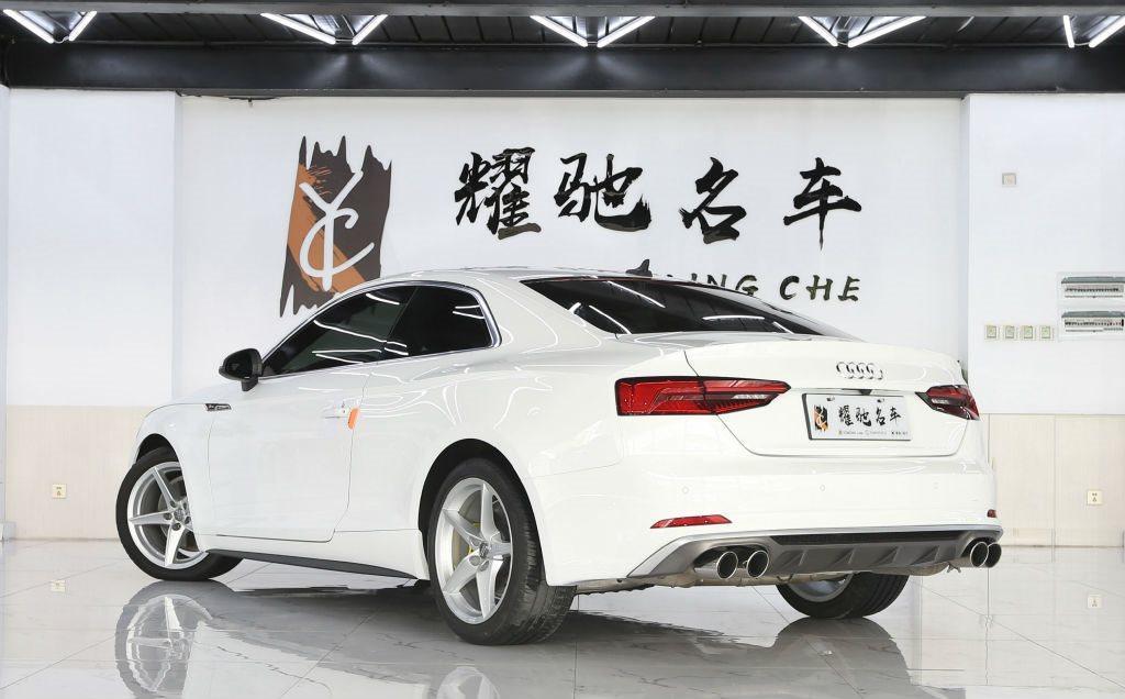 【中卫】2018年4月奥迪奥迪a52017款coupe40tfsi房车型自动档广州时尚c7威霆图片