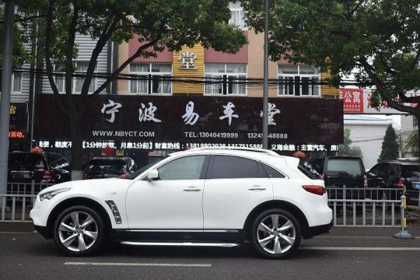 【宁波】2012年5月英菲尼迪fxfx353.5超越版一体手自白色东莞银丰路嘉荣图片