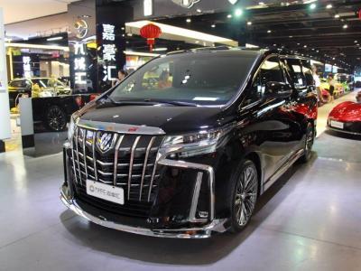 2019年6月 丰田 埃尔法(进口) 改款 3.5L 豪华版图片