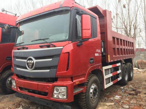 库存国四欧曼etx gtl 后八轮自卸车 有三包售后图片图片
