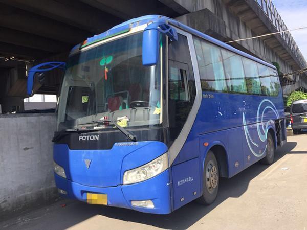 35座福田客车图片