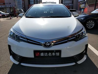 丰田 卡罗拉  2017款 改款 1.2T S-CVT GL-i