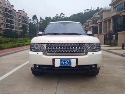 2012年6月 路虎 揽胜(进口) 5.0 V8 SC图片