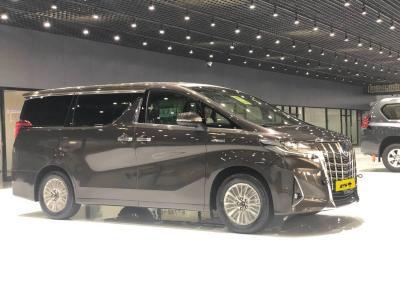 2019年8月 丰田 埃尔法(进口) 双擎 2.5L 尊贵版图片