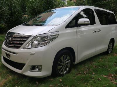 丰田 埃尔法  2012款 2.4L 豪华版