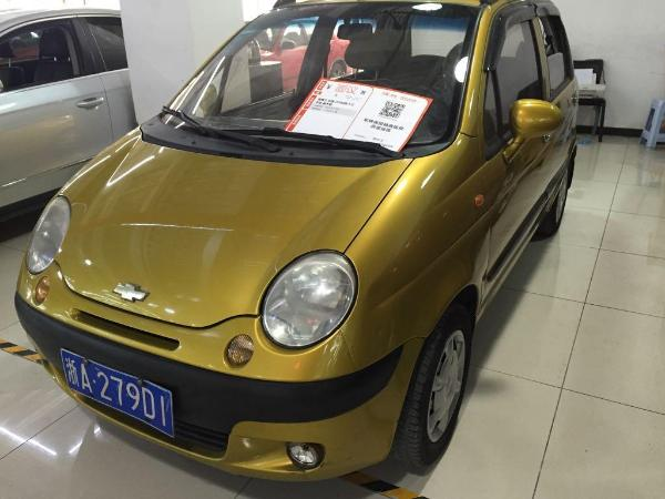 【杭州】2009年6月 雪佛兰 乐驰 1.0 橙色 手动挡图片