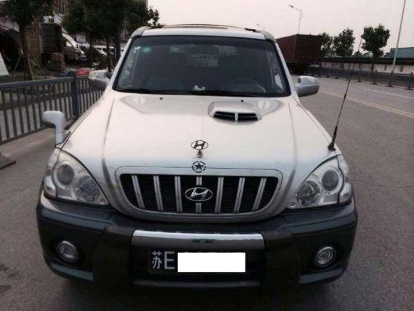 【苏州】2004年8月现代特拉卡2005款2.9t柴油银灰手动挡奔驰白色glc250价格表图片