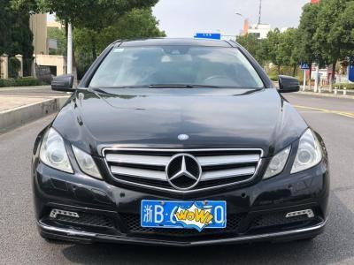 2011年4月 奔驰 奔驰E级(进口) E 350 Coupe图片