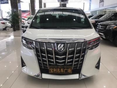 2018年12月 豐田 埃爾法(進口) 改款 3.5L 尊貴版圖片