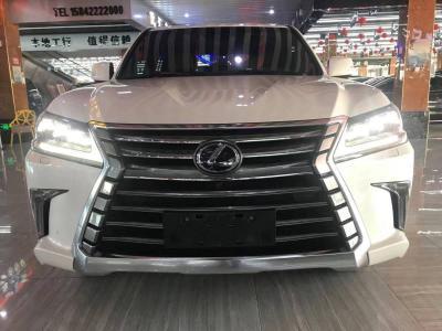 雷克薩斯 LX  2016款 570 尊貴豪華版