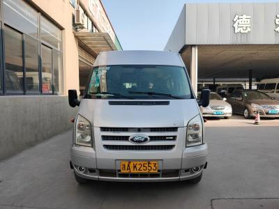 福特 新世代全順  2009款 2.4T柴油標準型短軸低頂國III