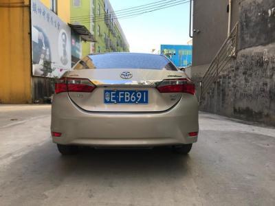 丰田 卡罗拉  2017款 1.2T CVT GL-i