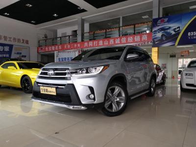 豐田 漢蘭達  2018款 2.0T 四驅豪華版 7座