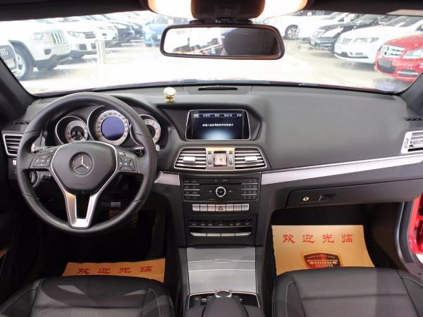 奔驰 E级  E200 Coupe 2.0T图片