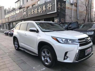 丰田 汉兰达  2018款 2.0T 四驱尊贵版 7座 国VI