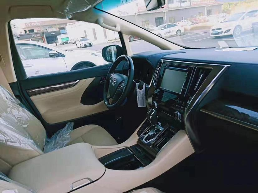 丰田 威尔法  2019款 双擎 2.5L HV尊贵版图片