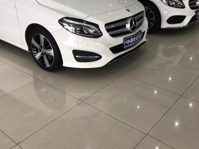 奔馳 奔馳B級  2017款 B 200 豪華型
