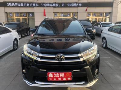 2019年12月 丰田 汉兰达  2.0T 四驱尊贵版 7座 国VI图片