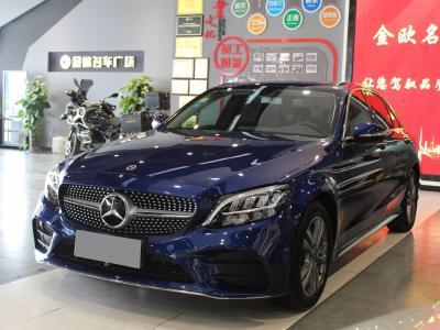 奔驰 奔驰C级  2019款 C 180 L 时尚型运动版