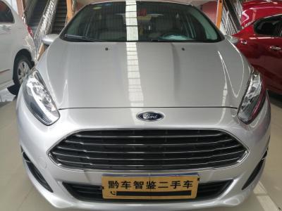 福特 嘉年華  2013款 三廂 1.5L 手動風尚型