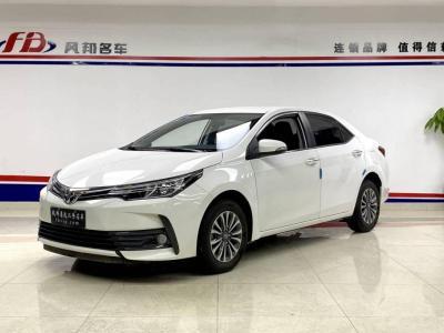 丰田 卡罗拉  2018款 1.2T S-CVT GL智享版