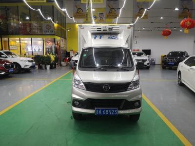 福田 祥菱V 1.5L CNG半承载3170轴距双排(厢车)DAM15R图片