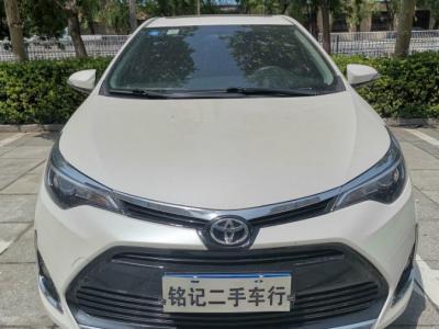 丰田 雷凌  2017款 改款 185T CVT领先版 国VI