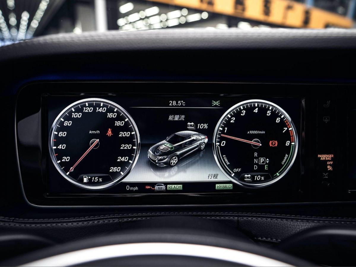 2017款 奔驰S级 奔驰S550E 3.0T图片
