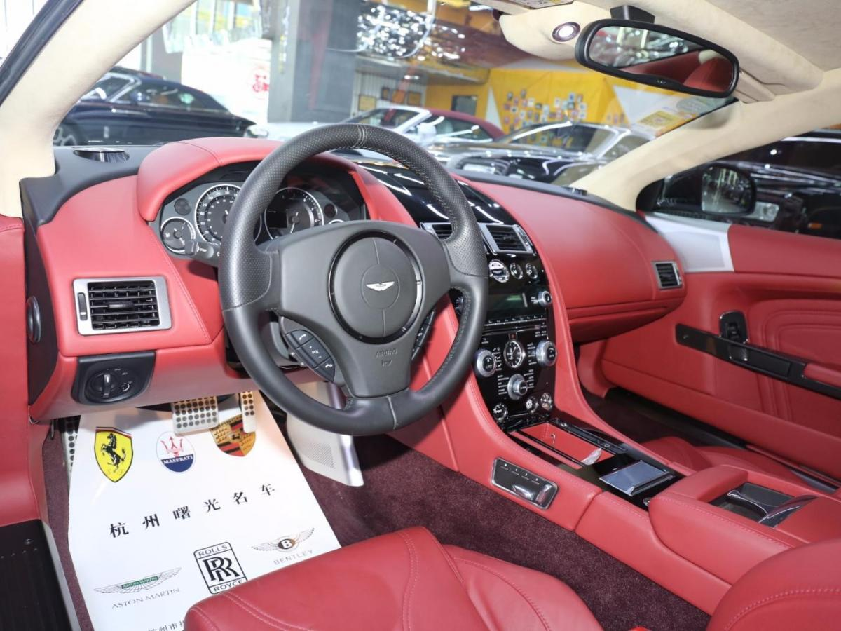 阿斯顿·马丁 阿斯顿・马丁DBS  2009款 6.0 Touchtronic Coupe图片