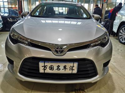 2016年8月 丰田 雷凌 1.6E CVT新锐版图片