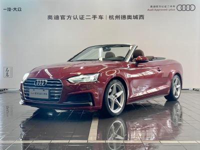2018年4月 奥迪 奥迪A5  Cabriolet 40 TFSI 时尚型图片