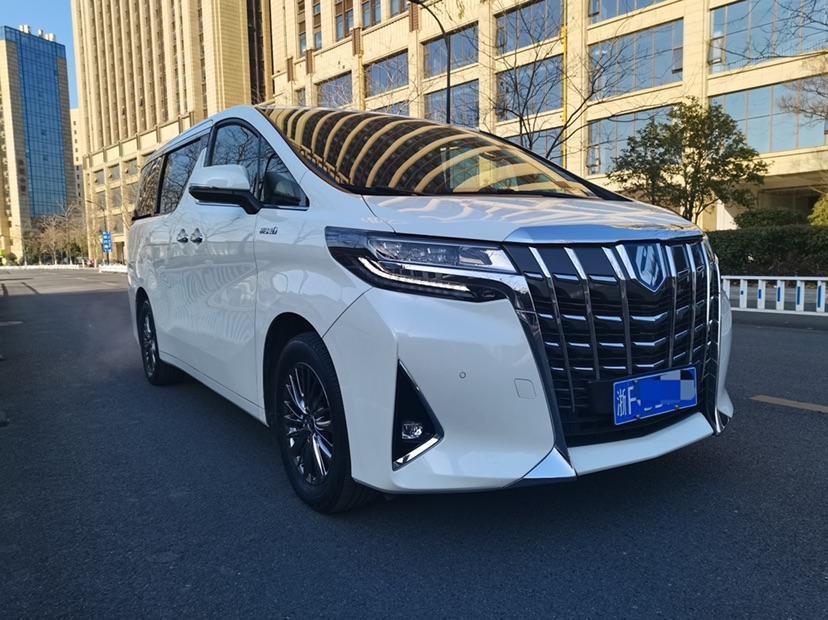 丰田 埃尔法  2019款  双擎 2.5L 尊贵版图片