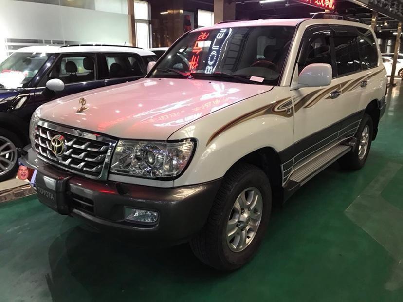 南京二手丰田兰德酷路泽2001款4.7L自动手自一体报价21.8万
