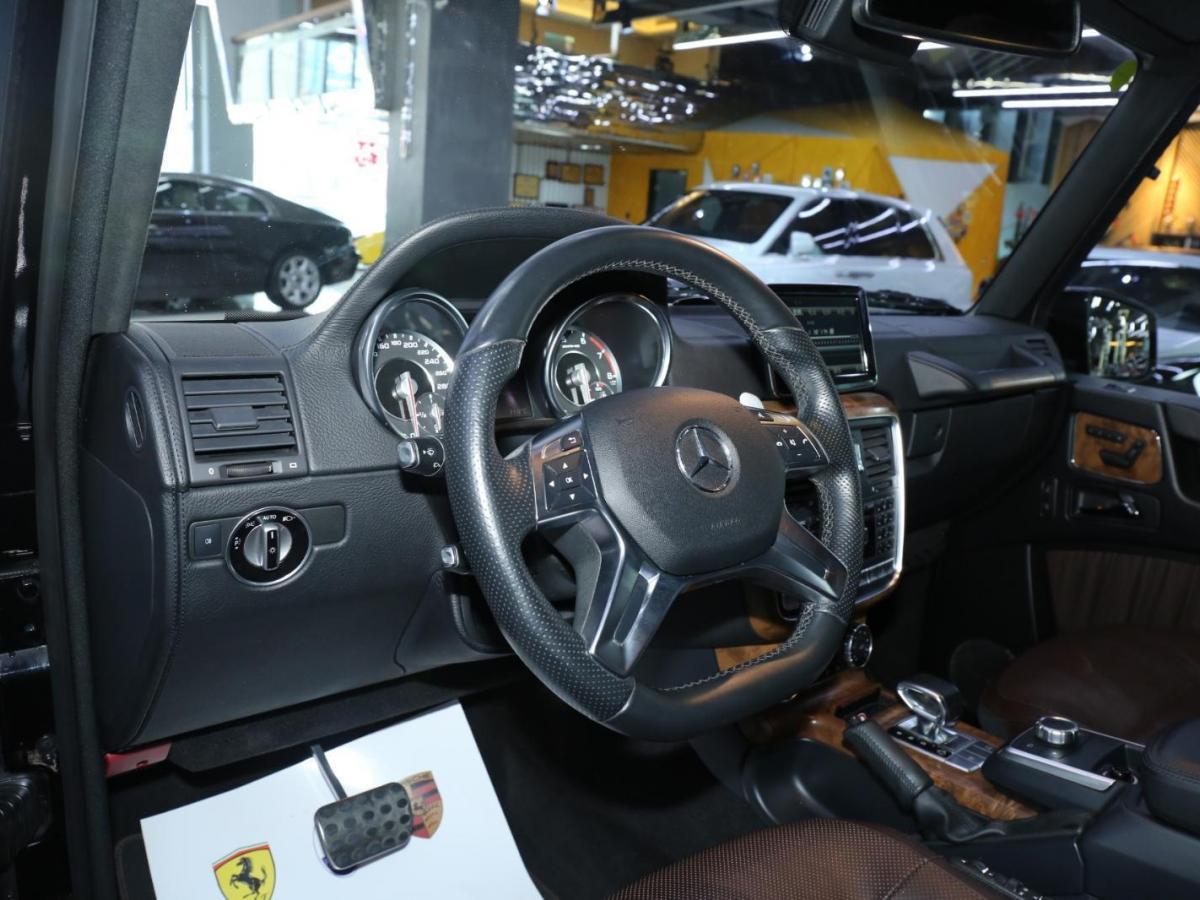 奔驰 奔驰G级AMG  2013款 AMG G 63图片