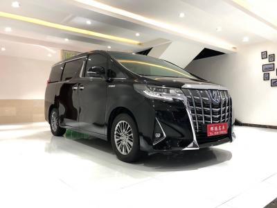 丰田 埃尔法  2020款 双擎 2.5L 豪华版
