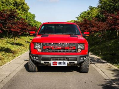 2012年6月 福特F-150 2011款 6.2L SVT Raptor SuperCrew(美规)图片