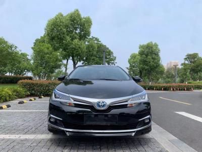 2018年1月 丰田 卡罗拉  双擎 1.8L E-CVT智尚版图片