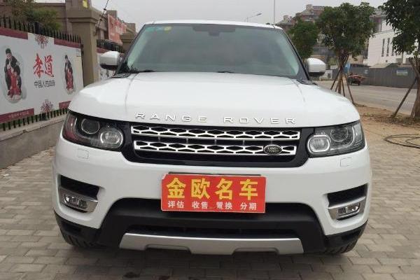 车辆颜色:白色 车辆配置 车辆描述  新到2014年路虎揽胜运动,3.图片