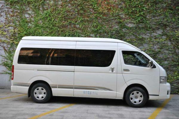 驾照练车 新款丰田海狮商务车 丰田海狮商务车8座  丰田海狮8座价格图片