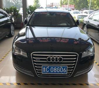 2012年8月 奥迪 奥迪A8 A8L 45TFSI quattro 豪华型