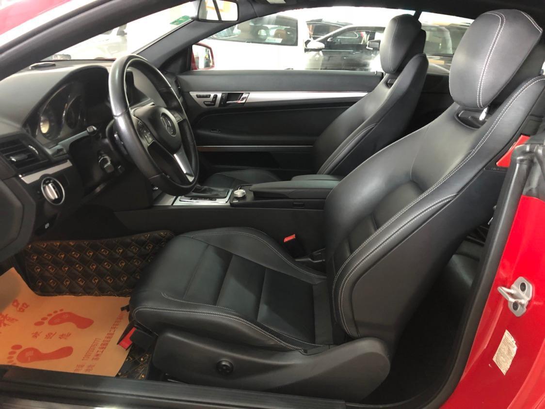 奔驰 E级  2012款 E260L CGI 1.8T 时尚型图片