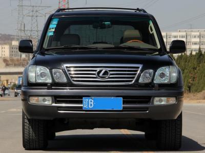 雷克萨斯 LX  2005款 LX470 升降底盘 双油缸