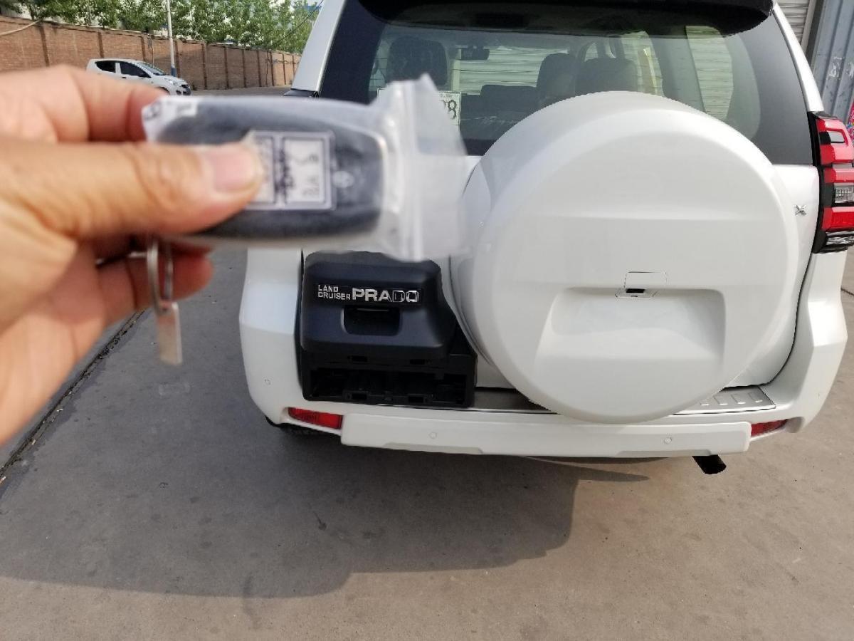 丰田 普拉多  2018款 3.5L 自动VX NAVI后挂备胎图片