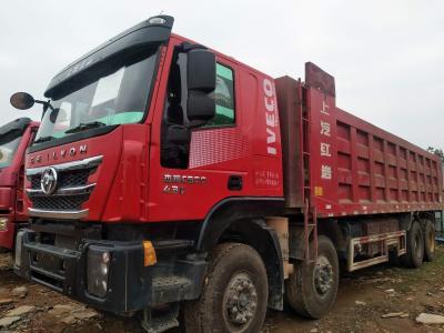 2018年3月  红岩杰狮前四后八自卸,国五排放 图片