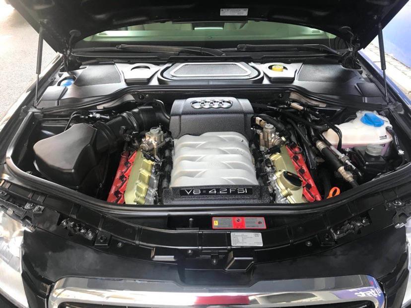 奥迪 奥迪A8  2009款 A8L 4.2 FSI quattro 尊贵型图片