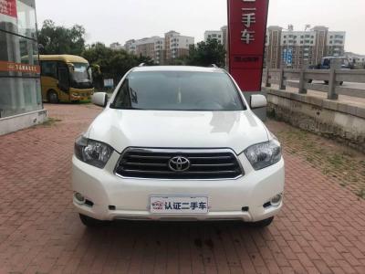 2011年1月 丰田 汉兰达 2.7L 两驱7座豪华版