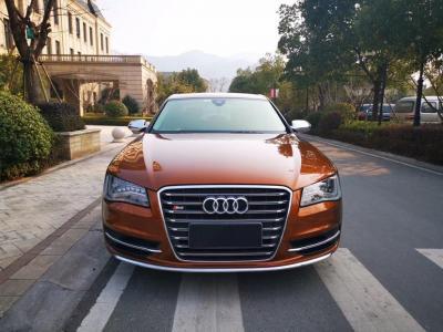 2014年11月 Audi 奧迪S8(進口) S8 4.0TFSI quattro圖片